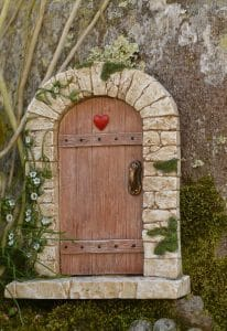 a door that can open by writing from your heart