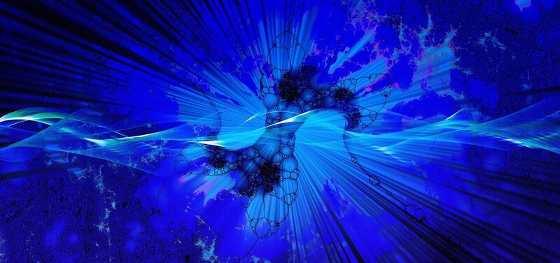 synchronicity as blue cells expanding